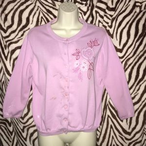 Covington pink cardigan pre 💕